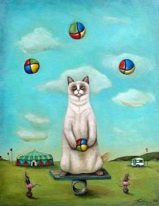 The Juggler Limited Edition print