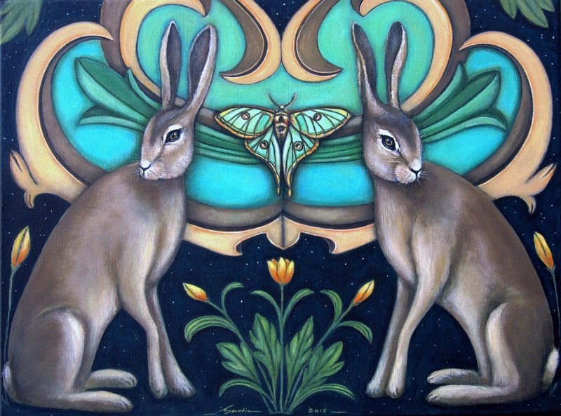 Winged Tapestries Limited Edition print