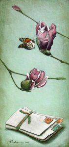 spring love mini print