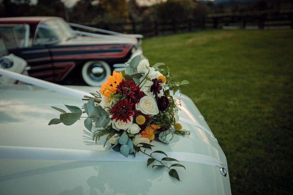 Bridal Car Flowers