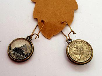 Double-sided NZ earrings