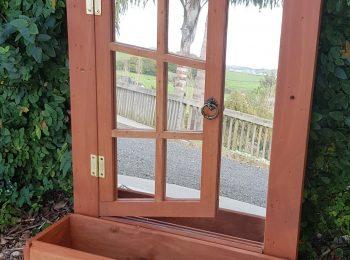 Mirrored Window Box cedar