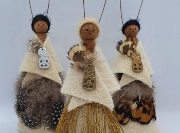 NZ-made Peg Dolls (10)