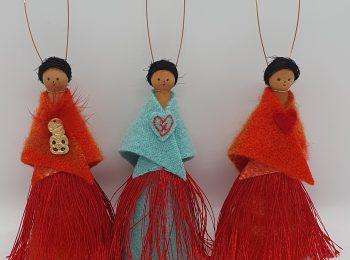 NZ-made Peg Dolls (12)