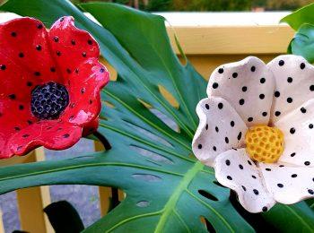 POTTERY GARDEN FLOWERS