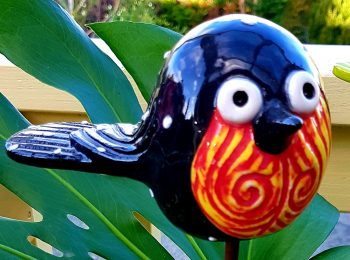 Pottery Birdie black