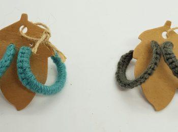 crocheted hoop earrings (2)