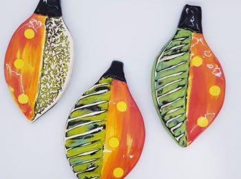 pottery fallen leaves (7)